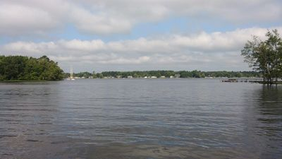 Photo for Take a relaxing vacation in a quiet rural neighborhood-public boat dock nearby!