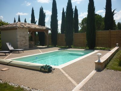 Photo for Montcuq, Pèque-Lèbre House 8 people, 140 m2, private heated pool