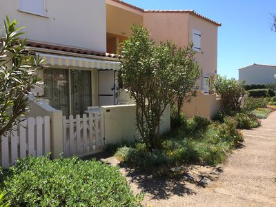 Photo for Apartment in Cap d'Agde 20 meters from the beach of the roquille