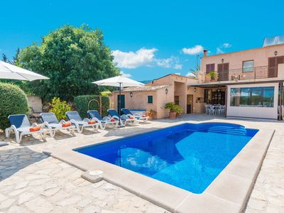 Photo for SA CASETA (ES CASTELL) - Villa with private pool in Alaró.