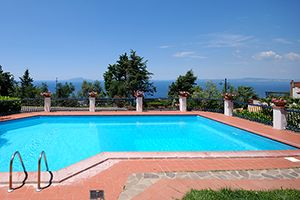 Photo for 4 bedroom Apartment, sleeps 8 in Sant'Agata sui Due Golfi with Pool and WiFi
