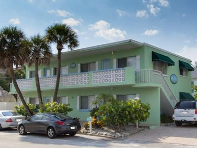 Photo for 2BR/BA Condo w/ Wifi, Heated Pool, Washer/Dryer, and Walking Distance to Beach