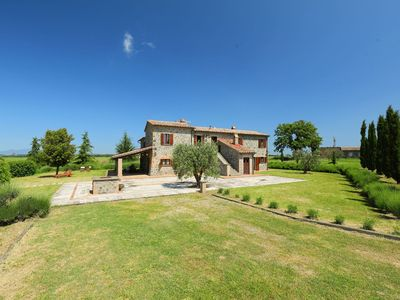 Photo for Wonderful private villa for 14 people with private pool, WIFI, TV, balcony, pets allowed and par...