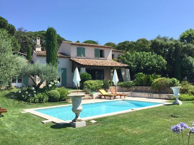 Photo for Luxury and Charming Villa on Saint-Tropez Golf Course