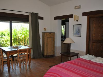 Photo for Il Mandorlo, independent mini-apartment with swimming pool in the Sabina hills