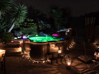 Photo for independent room with private outdoor spa