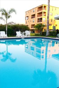 Photo for Spacious 2 story condo, clean decor 3BR, 2.5 BA. 2 Floors, Pool Waterfront