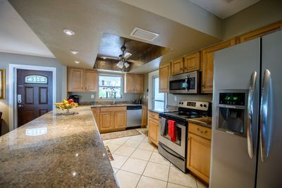Spacious, well-equipped kitchen in this Bonita Springs rental home