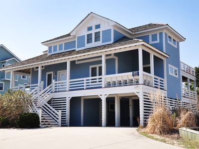 Photo for Twilight At The Oasis: 6 BR / 5 BA house in Nags Head, Sleeps 18