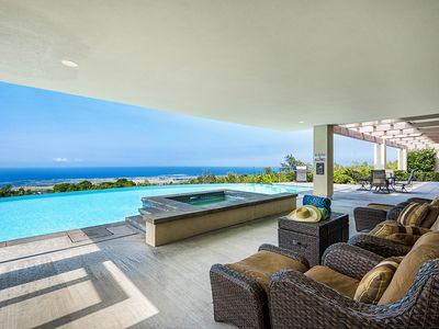 Photo for Large 7 bedroom custom home, Private Pool & Spa, Spectacular Ocean views