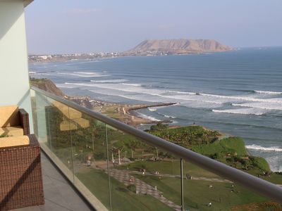 Photo for Miraflores Condo, Huge Balcony, Oceanview, 200sq Mt, +Amenities