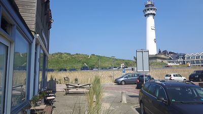 'Wisselend Tij' apartments near the lighthouse with private terrace