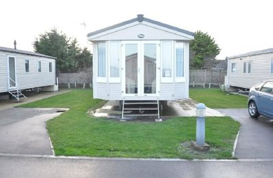 Photo for Caravan by Camber Sands Beach
