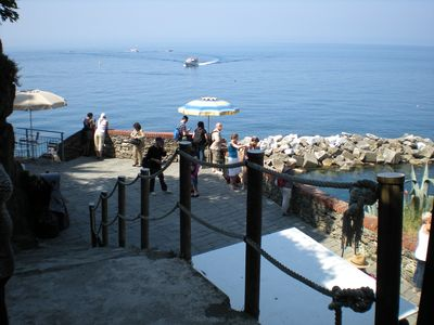 Photo for Profumodimare .dimora typical Ligurian a10 meters from the sea Free Wi-Fi