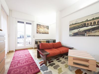 Photo for Beautiful & Sunny Apartment nearby Porta Genova neighborhood