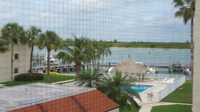 Photo for 2 BR 1.5 BA Directly on Inlet, dock, pool, fish