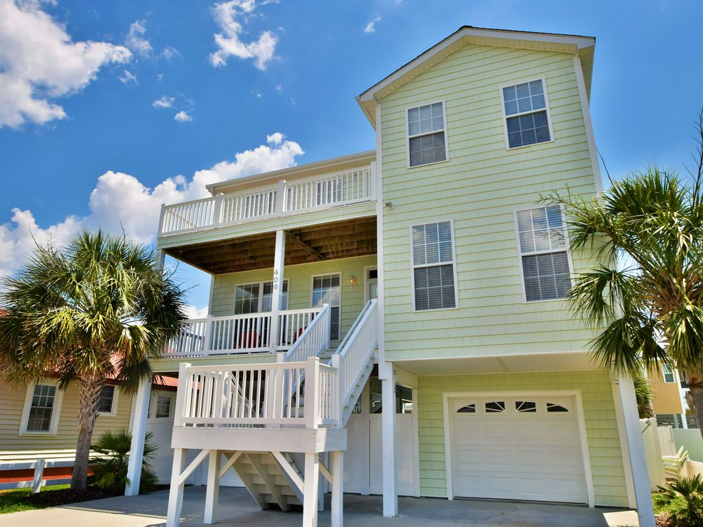 Cherry Grove Myrtle Beach Rental Houses