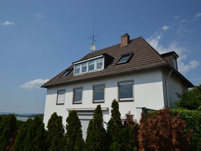 Photo for Comfortable apartment with garden and beautiful view of the Rhine near Koblenz