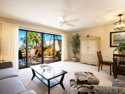 Photo for BEAUTIFULLY UPDATED–MAUI KAMAOLE–GROUND FLOOR CONVENIENCE-NEW FURNITURE-AC