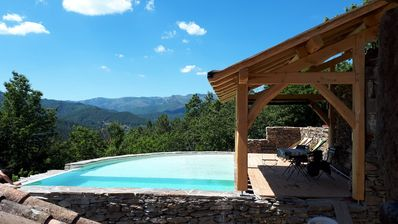 Photo for Cevenol farmhouse from 1666 authentic ecological and autonomous in the countryside