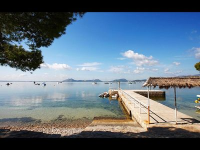 Photo for Cottage by the sea, quiet location, in the northwest of Mallorca, Puerto Pollenca