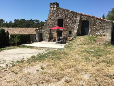 Photo for Typical Provencal farmhouse in an exceptional natural site, the Alpilles Park