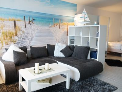 Photo for 337 - modern apartment overlooking the Baltic Sea in SW location - 337 - open apartment - Holiday Park