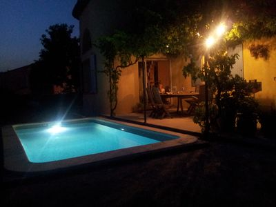Photo for air-conditioned villa 120 m2 with swimming pool, near Cannes and Grasse