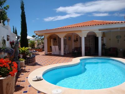 Photo for Luxurious 2-bedroom Violet Villa with private pool next to Callao Salvaje beach