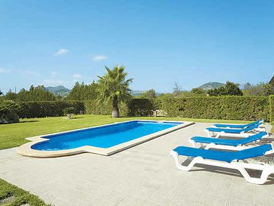 Photo for Family friendly Villa w/pool & BBQ, a short drive from Puerto Pollensa