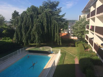 Photo for Nice & comfortable 35m² apartment: new, 100% equipped, terrace 25m² & pool!