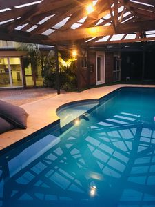 Photo for Family home with undercover solar heated pool