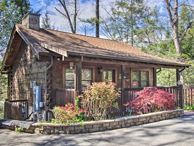 Photo for Cozy Pigeon Forge Escape w/Spacious Deck & Hot Tub