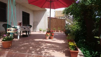 Photo for One bedroom apartment with terrace Valbandon (Fažana)