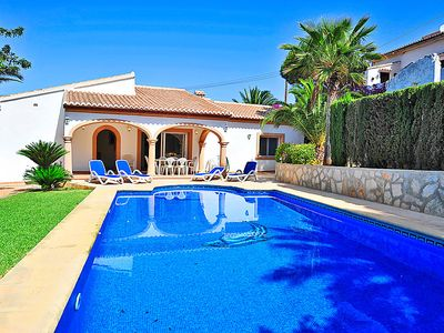 Photo for Vacation home Ana  in Jávea, Costa Blanca - 8 persons, 4 bedrooms