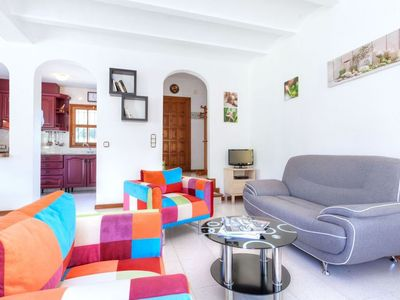 Photo for Apartment 900 m from the center of Calonge with Internet, Washing machine, Pool, Garden (88621)