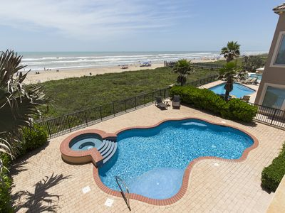 "Photo for Live the ""Bella Vita"" in our ever so Spacious, Ocean Front House with Picturesque Views of the Gulf!"