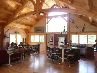 Photo for Wet Dog Ranch. -  Mountain paradise on 19 acres with a private lake!  Enjoy the fresh mountain air!