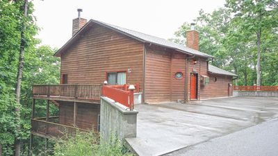 Photo for Peace and tranquility surround you in this lovely 3 bedroom, 3 bath chalet