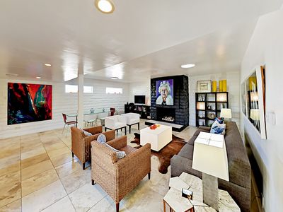 Photo for 2BR, 2BA Cool Palm Springs Condo with a Pool - Walk to Downtown, 1 Block to B