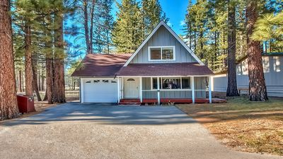 Photo for Sunny Tahoe Cabin on the Meadow!