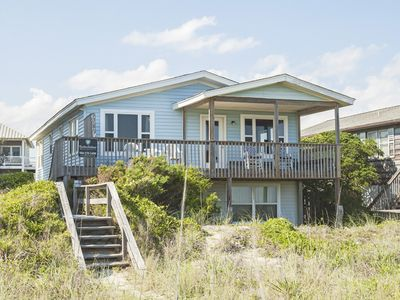 Photo for Rebel's Roost: 4 BR / 3 BA home in Oak Island, Sleeps 10