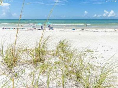 Beach villa perfectly situated in Indian Rocks Beach Community.