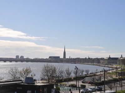 Photo for BEAUTIFUL APPARTMENT WITH VIEW ON GARONNE