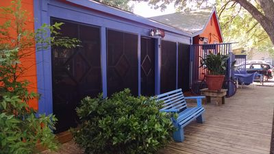 Wee Bungalow is the middle unit - best screened porch!