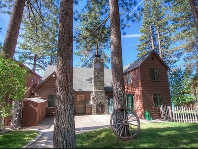 Photo for Beautiful large beachfront family home with breathtaking views of Lake Tahoe