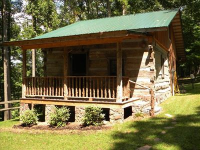 Photo for Beautiful Log Cabin - Minutes from Downtown Abingdon