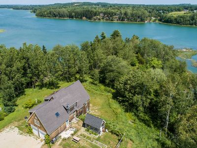 Photo for Waterfront Coastal Maine Home On 7 Wooded Acres!