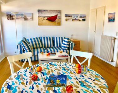 Photo for Apartment for 2/3 people in the Port of Perros Guirec, splendid sea view