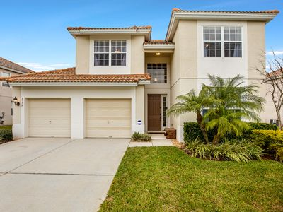 Photo for Windsor Hills  5 Bedroom 5 Bath West Facing Pool Area and Minutes from Disney
